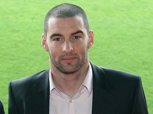 Former Irish footballer Richie Sadlier
