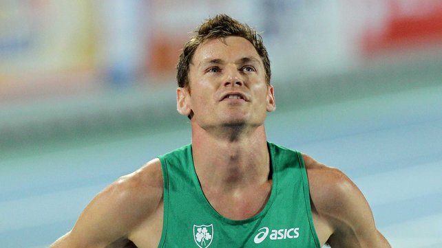 Irish athlete David Gillick